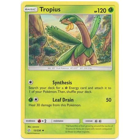 Tropius - Pokemon Sun & Moon: Cosmic Eclipse - 12/236 - Uncommon