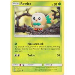 Rowlet - Pokemon Sun & Moon: Cosmic Eclipse - 17/236 - Common