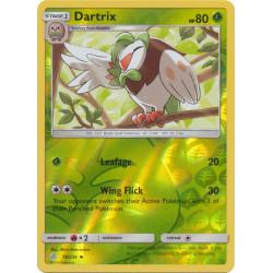 Dartrix - Pokemon Sun & Moon: Cosmic Eclipse - 19/236 - Uncommon Reverse Holo