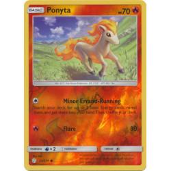 Ponyta - Pokemon Sun & Moon: Cosmic Eclipse - 23/236 - Common Reverse Holo
