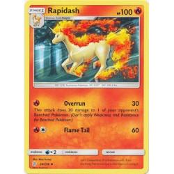 Rapidash - Pokemon Sun & Moon: Cosmic Eclipse - 24/236 - Uncommon