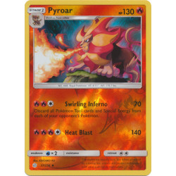 Pyroar - Pokemon Sun & Moon: Cosmic Eclipse - 37/236 - Uncommon Reverse Holo