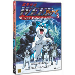 Weed Silver Fang's søn nr 8: Afsnit 23-26 (ny dvd i folie)
