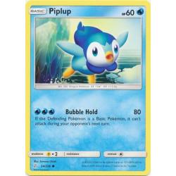 Piplup - Pokemon Sun & Moon: Cosmic Eclipse - 54/236 - Common