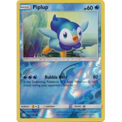 Piplup - Pokemon Sun & Moon: Cosmic Eclipse - 54/236 - Common Reverse Holo