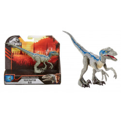 Savage Strike Velociraptor Blue Jurassic World
