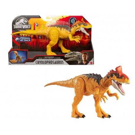 Sound Strike Cryolophosaurus Jurassic World Dinosaur Action Figure