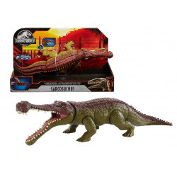 Massive Biters Sarcosuchus Jurassic World Larger-Sized Dinosaur Action Figure