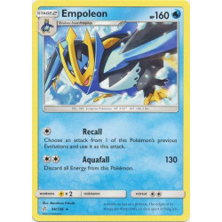 Empoleon - Pokemon Sun & Moon: Cosmic Eclipse - 56/236 - Rare