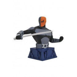 BESTILLINGSVARE: Batman The Animated Series Bust Beware The Batman Deathstroke 15 cm