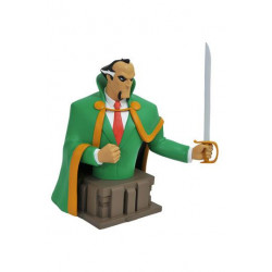 BESTILLINGSVARE: Batman The Animated Series Bust Ra's Al Ghul 15 cm --- DAMAGED PACKAGING