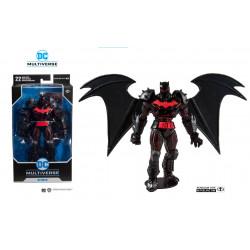 BESTILLINGSVARE: Batman & Robin Action Figure Batman (Hellbat Suit) 18 cm McFarlane Toys