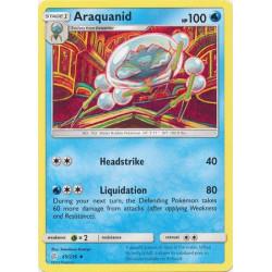 Araquanid - Pokemon Sun & Moon: Cosmic Eclipse - 65/236 - Uncommon