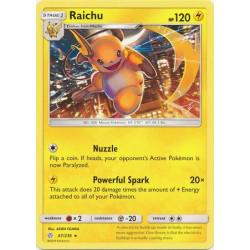 Raichu - Pokemon Sun & Moon: Cosmic Eclipse - 67/236 - Rare