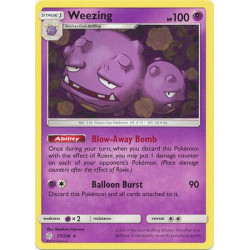 Weezing - Pokemon Sun & Moon: Cosmic Eclipse - 77/236 - Rare