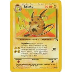 Raichu - Fossil - 29/62 - Rare