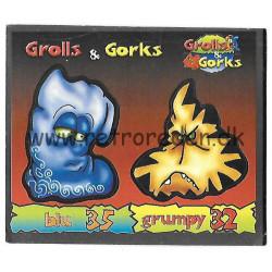 Blu & Grumpy Grolls & Gorks...