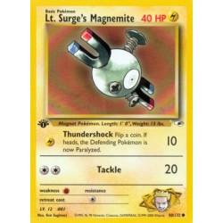 Lt. Surge's Magnemite