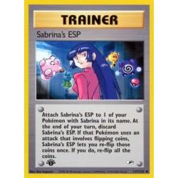 Sabrina's ESP