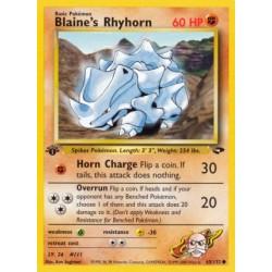 Blaine's Rhyhorn
