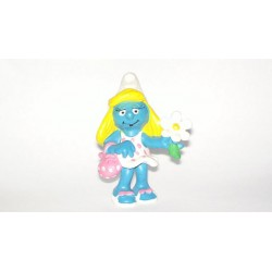 Smurfette With Flower