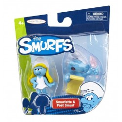 Smurfette & Poet Smurf