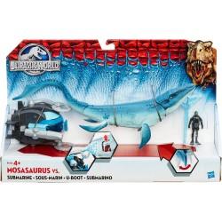 Mosasaurus vs. Submarine