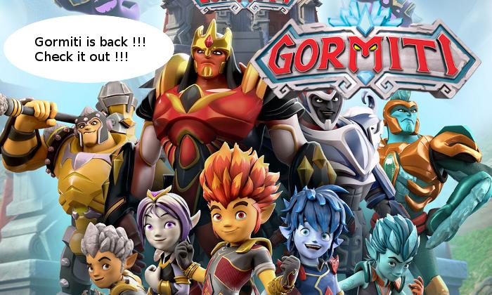 Gormiti news May 2019