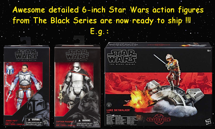 The Black Series news