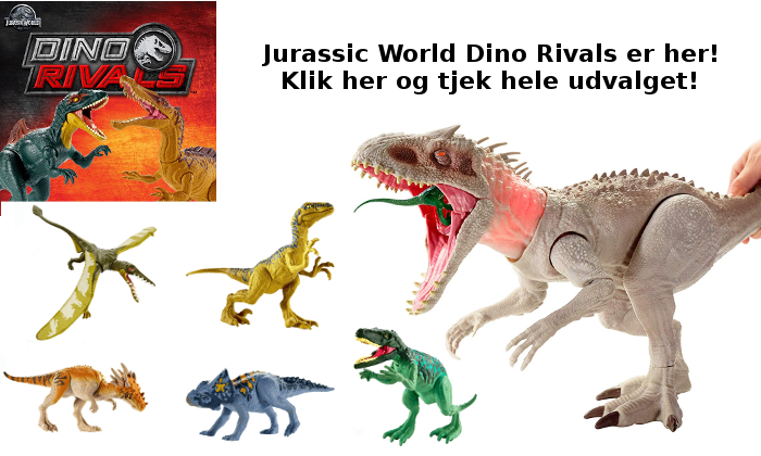 Jurassic World Dino Rivals nyhed