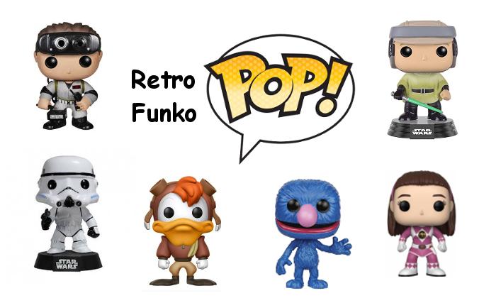 Retro Funko Pop