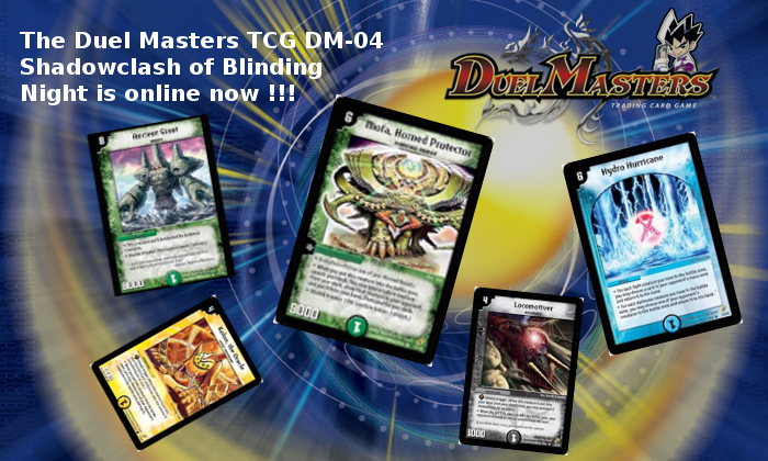 Duel Masters DM-04 news!